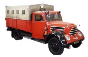 LF8 auf Fahrgestell Robur Garant K30 (60 PS, Hubraum 3.000 ccm) 1959 - 1983